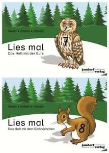 Lies mal Hefte 7 und 8 (Eule und Eichhörnchen) als Paket