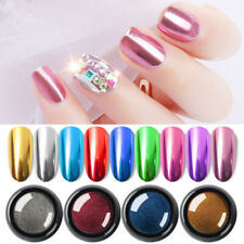 11 Colors 9g Mirror Powder Dust Glitter  Nail Art Chrome Pigment Decor