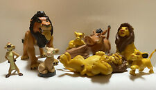 Vintage 1990s Disney Lion King Figurines
