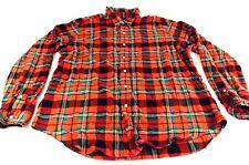Ralph Lauren Shirt Lumber Jack Polo RL Button up shirt Christmas Country Western