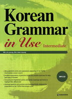 Korean Grammar in Use Intermediate Textbook + MP3 CD(English ver) Language Study