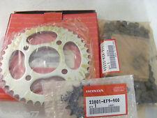 kit chaine HONDA CG 125 BR 1992-97   14X41   piece honda  ref:0640C-KCH-405