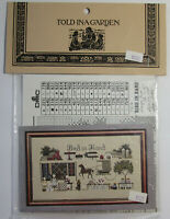 """""""Told In A Garden"""" Counted Cross Stitch Charts"""