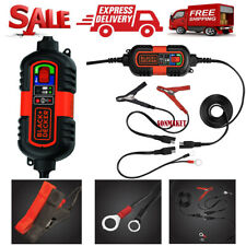 Black Decker Battery Charger Maintainer Automatic Float Trickle Car Truck 6V/12V