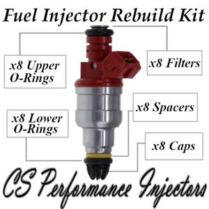 Fuel Injectors Rebuild Repair Kit fits 0280150778 for 93-98 BMW 4.0L 4.4L 3.0L