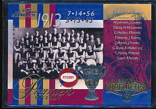 Select 2012 Eternity Fitzroy 1913 Premiership Commemorative Card PC82