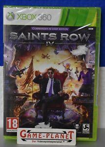 Saints Row 4 Comander in Chief Edition Xbox 360 uncut NEU OVP Folie Shooter AT