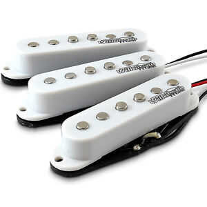 SET 3 PICKUP SINGLE COIL WILKINSON FENDER STRATOCASTER VINTAGE ANNI 60 MWVSWH