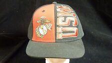 Adjustable Snap Back USMC Marine Corps Baseball Cap Hat by Rapid Dominance