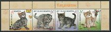 Belarus 2017 Animals, Pets, Cats 4 MNH stamps