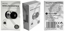 Micro Wireless Earpiece Spy Music Mini Hidden Micro Bug Covert Phone 3 Hours Use