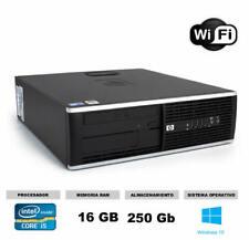 Ordenador Hp 8200 sff Core i5 16gb 250 gb WI-FI ideal estudiantes teletrabajo