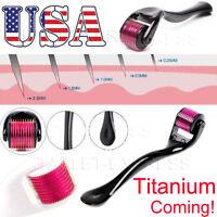 540 Titanium Microneedle Scar Derma Roller Dermaroller Micro Needle Skin Therapy