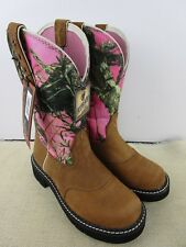 ARIAT 10010920 WOMEN'S PROBABY BROWN LEATHER BOOTS SIZE 6 NEW IN BOX