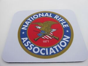 NRA MOUSE GAME PAD NATIONAL RIFLE ASSOCIATION COMPUTER DESK ACCESSORIES