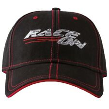 Drift Racing Race On Cotton Baseball Hat Cap - Black / Red - 5255-504