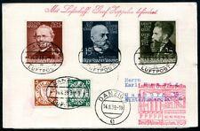 DANZIG 1937 BLOCK3 auf ZEPPELINBRIEF ESSENFAHRT RRRR(Z7653