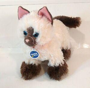 Build A Bear Promise Pets Siamese Himalayan Cat W/ Sound Plush Stuffed Animal