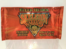 Fleer Ultra Skeleton Warriors 1995 Trading Cards Pack