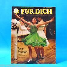 DDR FÜR DICH 26/1989 Frösi Rostock Berlin Köpenick Martin A. Nexö Tanz Mode B
