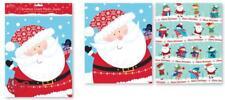 4 x Giant Large Plastic Christmas Santa Sacks Gift bags 62cm x 75cm 2 packs of 2
