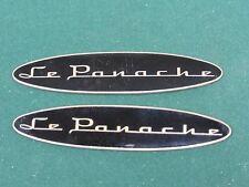 1999 2002 Lincoln Town Car Metal LE PANACHE Emblem SET Nice Driver Quality