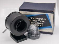 Rare NOS - Topcon Super D DM SLR Camera Exakta Mount Bellows Microscope Adapter