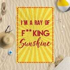 147x99.1cm I 'I'm a rayon de F King soleil Microfibre Serviette plage drôle joke