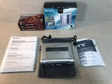 Sony TCM-450DV Cassette Voice Recorder Dictaphone, Variable Speed VOR Boxed