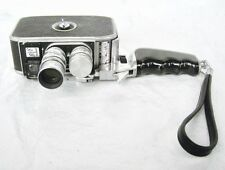 Vintage Paillard B8 Bolex double 8mm movie camera 1953 Geneva Switzerland
