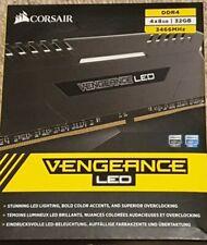 Corsair 32GB 4x8GB Vengeance LED DDR4 3466MHz Desktop RAM CMU32GX4M4C3466C16 C16