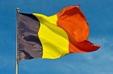 Bandiera Belga Belgio Belgium  in Poliestere 90 x 150 Collezione Decorazione