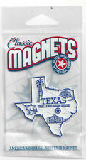 TEXAS  TX    THE LONE STAR  STATE OUTLINE MAP MAGNET in Souvenir Bag, NEW