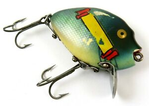 Heddon Punkinseed Vintage Crankbait Fishing Lure, Bluegill w/ Unique Graphic