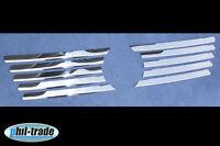 EDELSTAHL CHROM GRILL LEISTEN für MERCEDES VITO W638 | 1996-2003 | KÜHLERGRILL