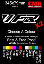 Honda VFR Decal Side Fairing 400 750 800 x2 Unofficial Honda Motorcycle Vinyl