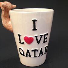 Qatar Mug Camel Figural Cup