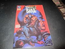 BATMAN:VENGEANCE OF BANE #1  1ST APPEARANCE OF BANE RARE 2ND PRINT !!
