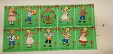 Finland 1987 Christmas Block of Ten Stamps MNH