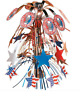 Boy Scout Official Eagle Scout Court of Honor Centerpiece Red White Blue New