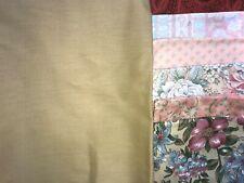 New listing Yellow Brick Road Quilt Kit w/Rjr Solid & Florals Crib Size