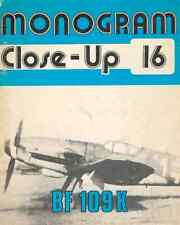 AERONAUTICA AIRCRAFT Monogram Close Up 16 Messerschmitt Bf109K - DVD