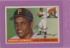 1955 Topps Roberto Clemente #164 HOF Pirates Rookie Card VG No Creases