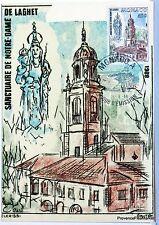 Yt 1597 CONCOURS DE BOUQUETS    MONACO CARTE MAXIMUM 1° JOUR FCP