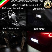 KIT LED INTERNI ALFA ROMEO GIULIETTA KIT COMPLETO + LUCI TARGA 6000K