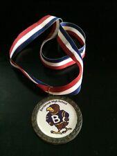 Vintage Bellbrook High School Ohio Eagle Mascot Sports Wrestling Medal Award