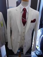 Cavani 3 Piece Ivory Suit for Proms, Party & Weddings