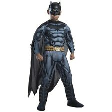 Kids Deluxe DC Comics Batman Muscle Chest Costume Child Size Large 12-14