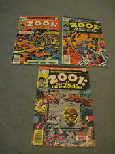 MARVEL COMICS GROUP 2001: A SPACE ODYSSEY #1, 4 & 5 GOOD READER CONDITION