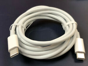 Genuine Apple Cable  USB-C to USB-C 2 meter A1739 For  MacBook iMac iPad Models